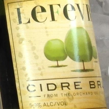 picture of Lefevre Cidre Brut submitted by cidersays