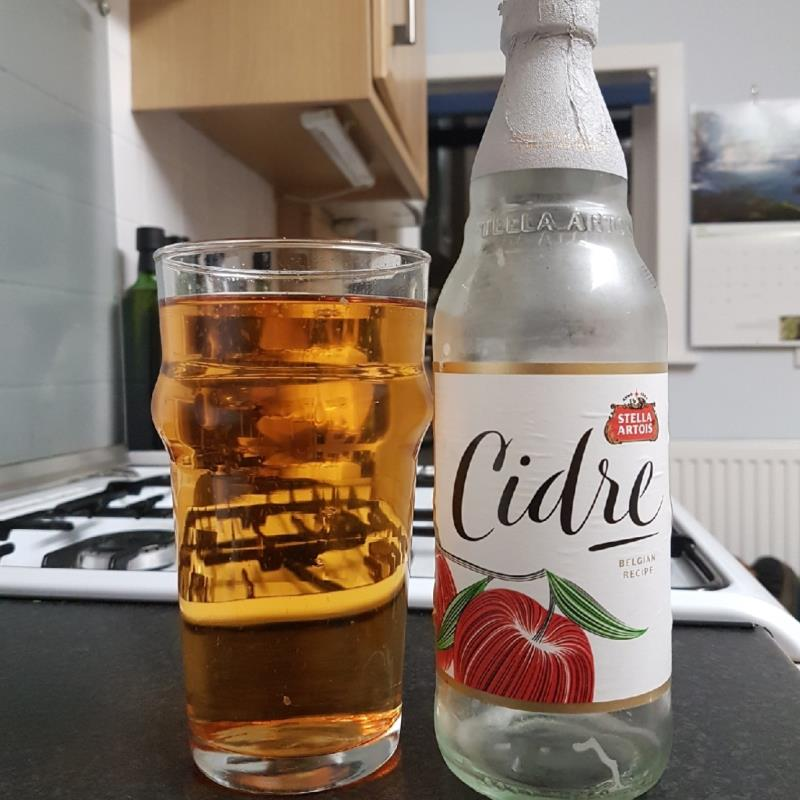picture of Stella Artois Cidre by Stella Artois submitted by BushWalker
