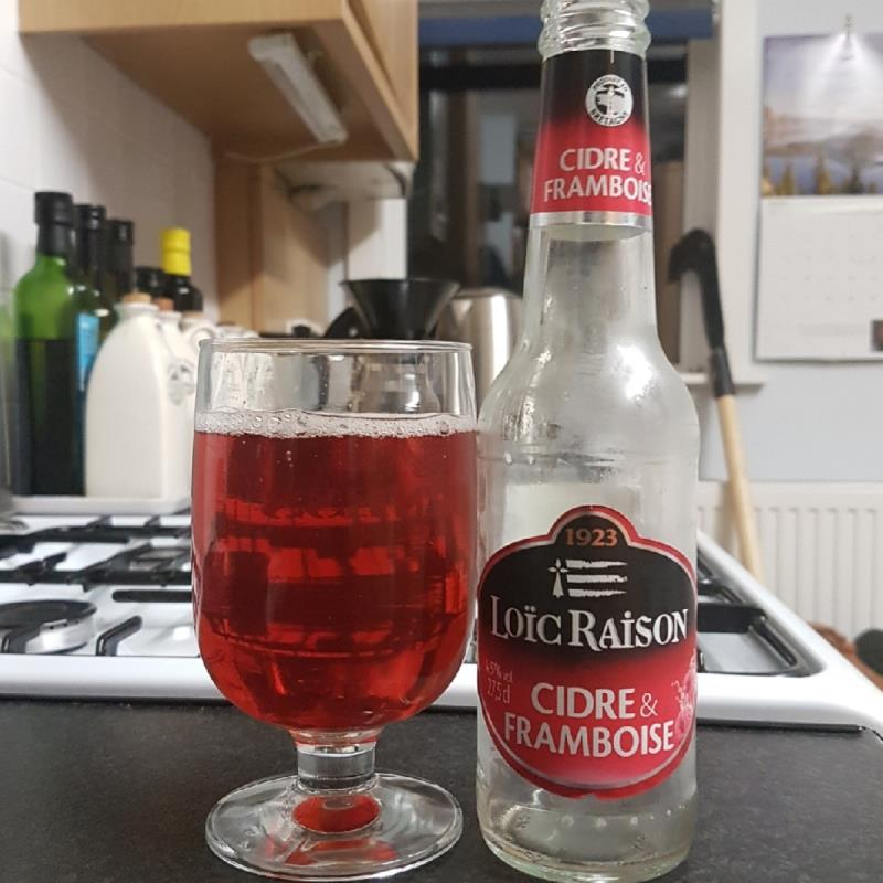 picture of Loic Raison Cidre & Framboises submitted by BushWalker