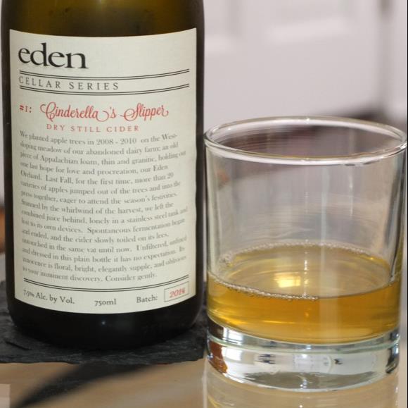 picture of Eden Cider Cinderella's Slipper (Cellar Series #1) submitted by KariB