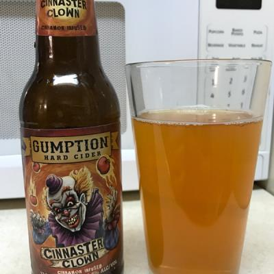 picture of Gumption Hard Cider Cinnaster Clown submitted by noses