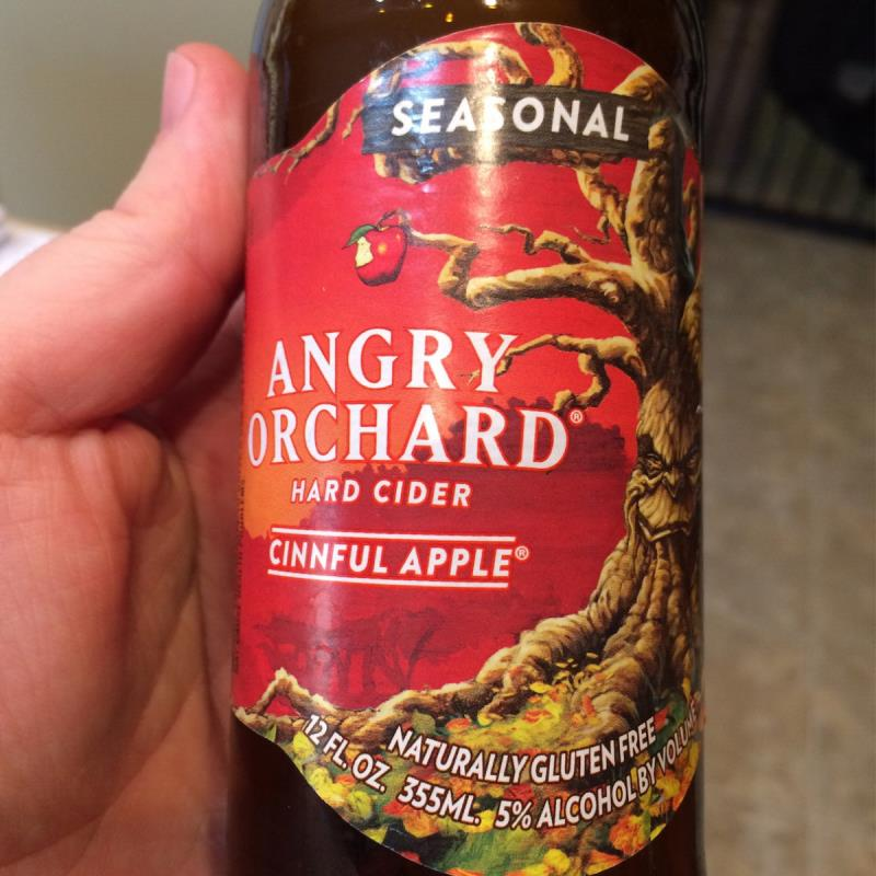 picture of Angry Orchard Cinnful Apple submitted by Fro