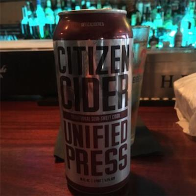 picture of Citizen Cider Unified Press submitted by Sarahb0620