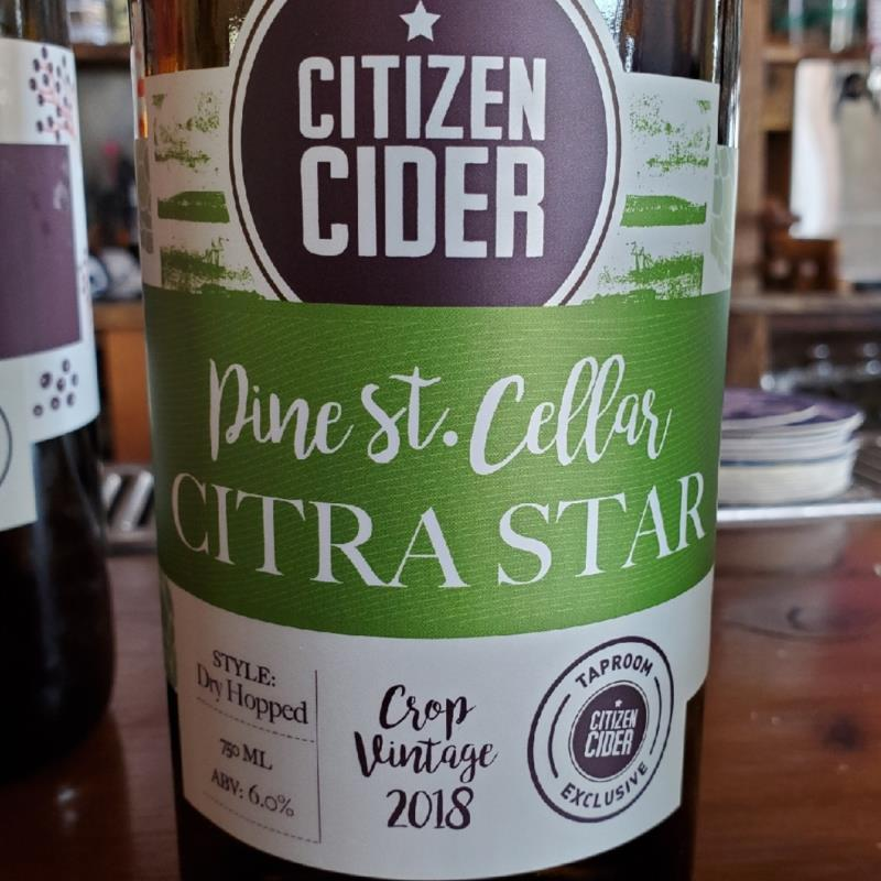 picture of Citizen Cider Citra Star submitted by TonyaStrahler
