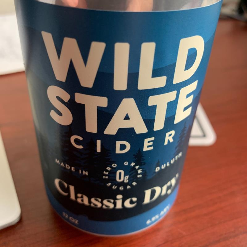picture of wild State Cider Classic Dry submitted by KariB