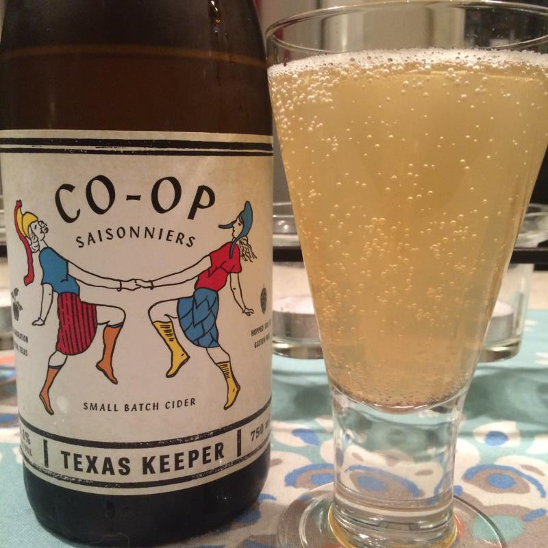 picture of Texas Keeper Cider Co-Op Saisonniers submitted by KariB