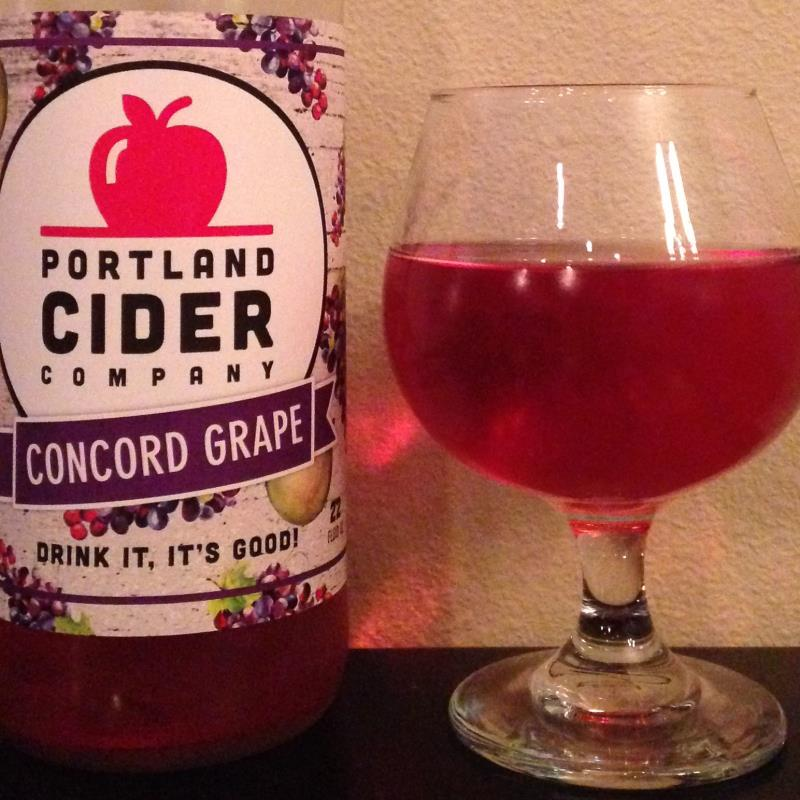 picture of Portland Cider Co. Concord Grape submitted by cidersays