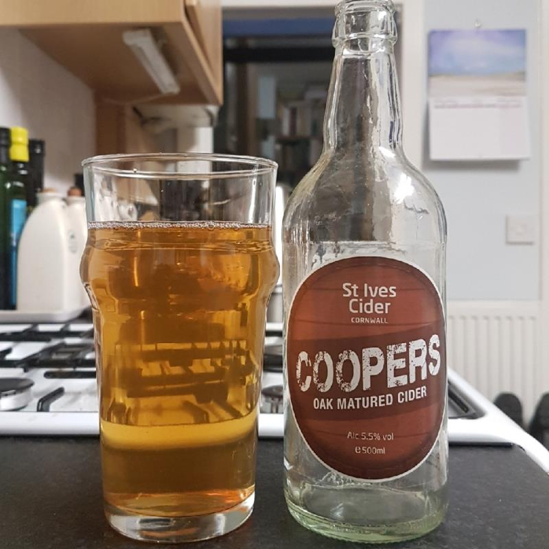 picture of St Ives Cider Coopers Oak Matured submitted by BushWalker