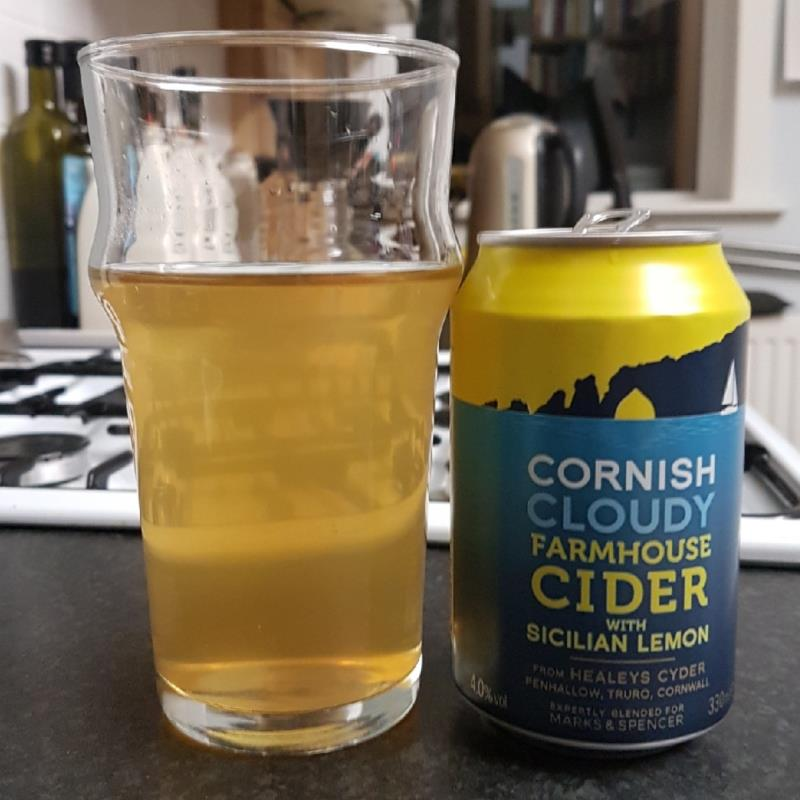 picture of Healeys Cornish Cyder Farm Cornish Cloudy Farmhouse Cider With Sicilian Lemon submitted by BushWalker