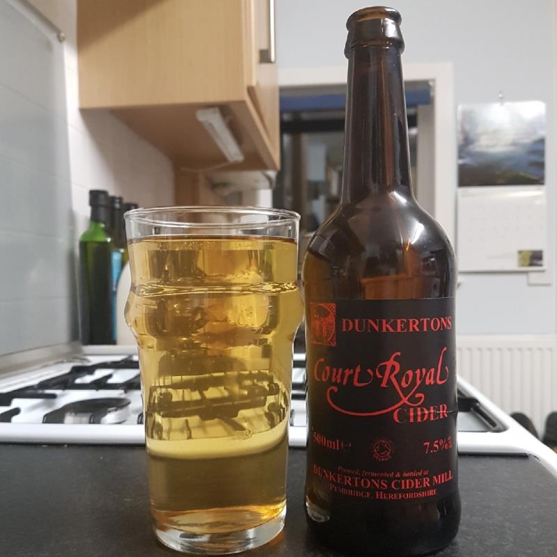 picture of Dunkertons Organic Cider Court Royal submitted by BushWalker