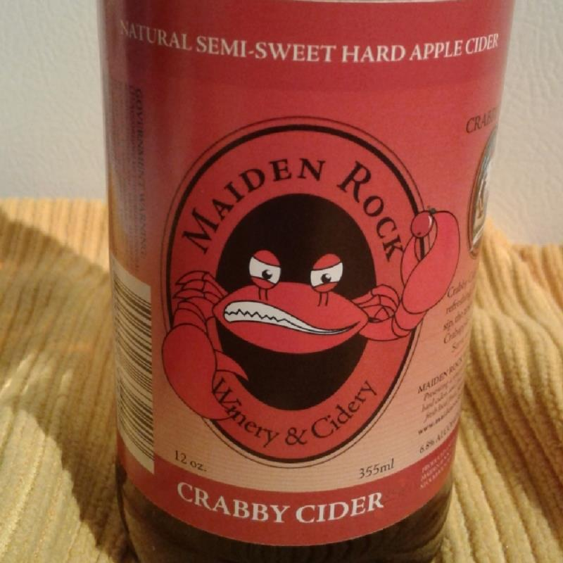picture of maiden rock crabby cider submitted by Kaydi