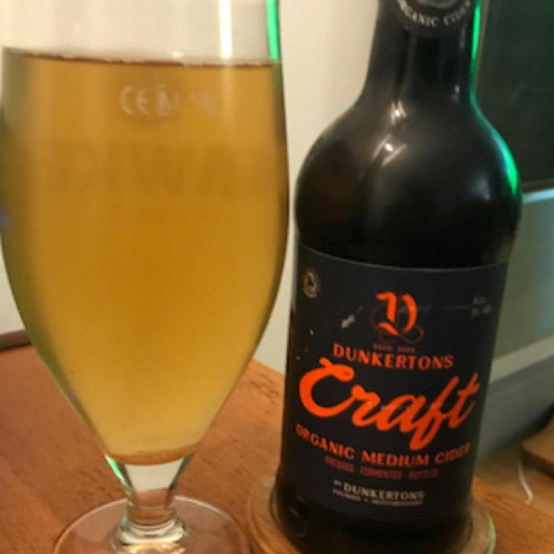 picture of Dunkertons Organic Cider Craft organic submitted by Judge