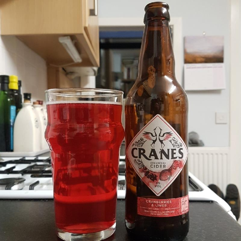 picture of Cranes Drink Ltd Cranberries & Limes submitted by BushWalker