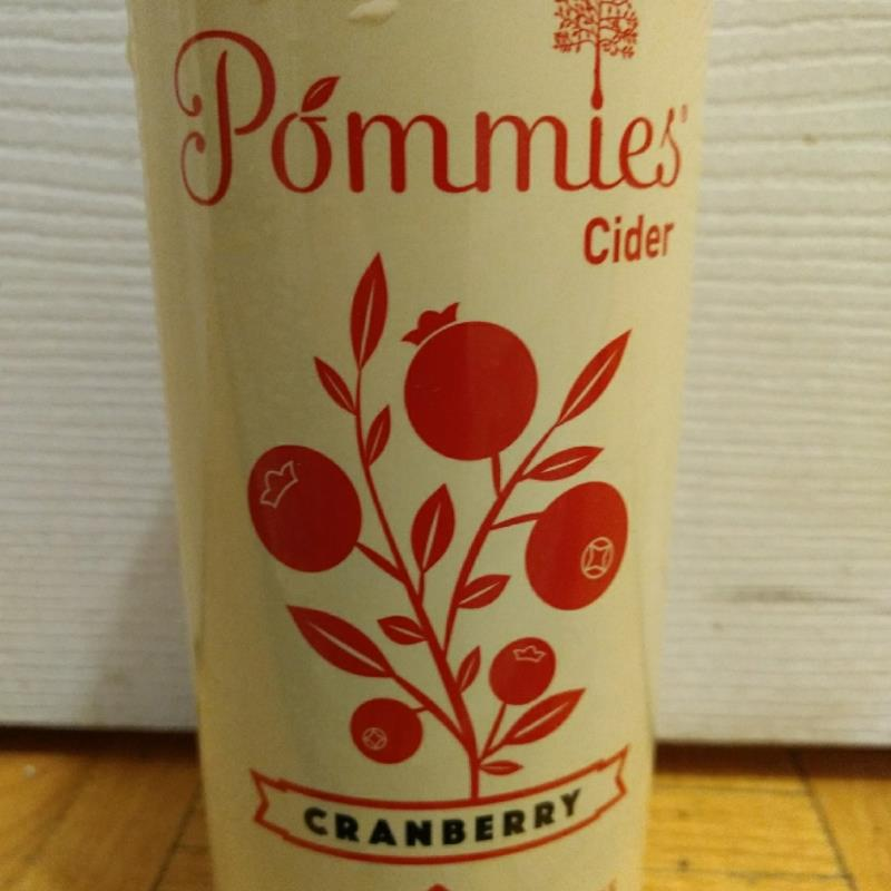 picture of Pommies Cider Co Cranberry submitted by iwill