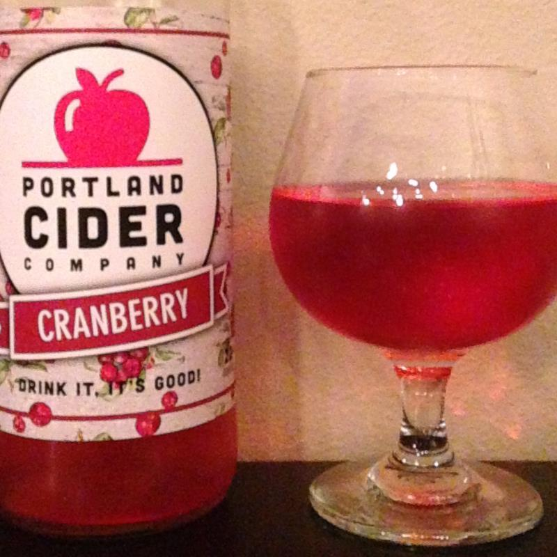 picture of Portland Cider Co. Cranberry submitted by cidersays