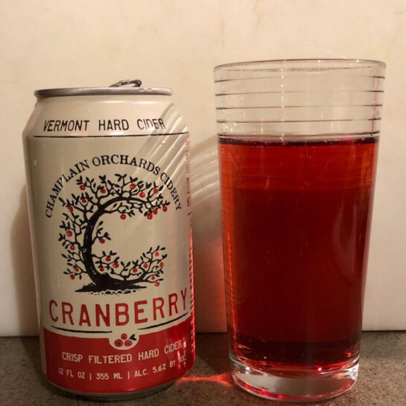 picture of Champlain Orchards Cidery Cranberry submitted by Cideristas