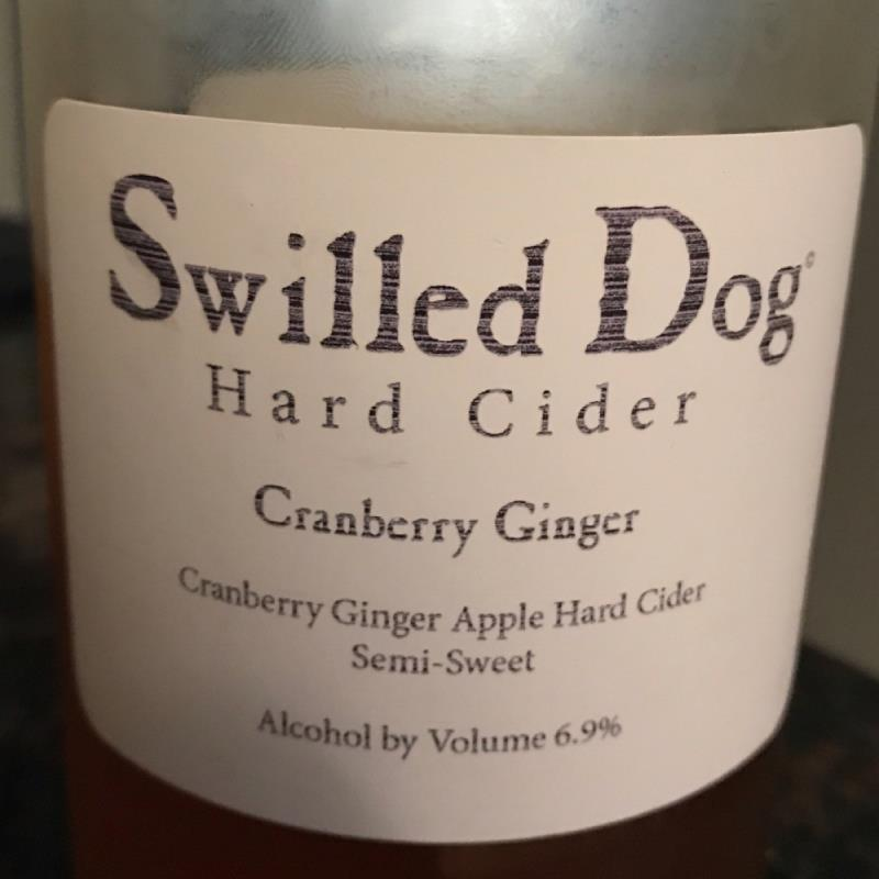 picture of Swilled Dog Cranberry Ginger submitted by Karibourgeois