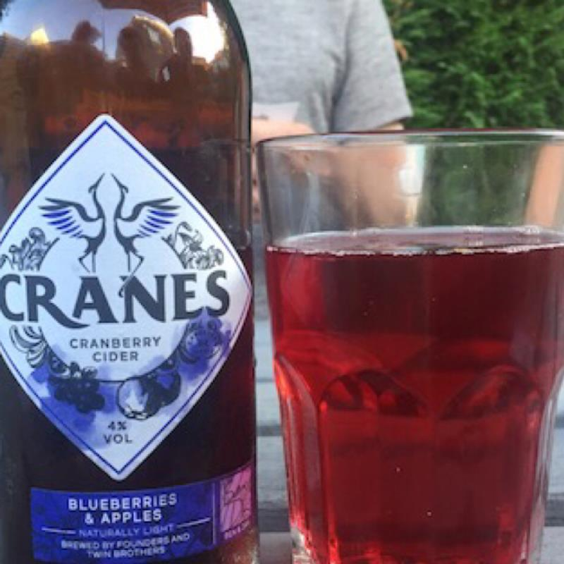 picture of Cranes Drink Ltd Cranes Cranberry Cider - Blueberries & Apples submitted by david