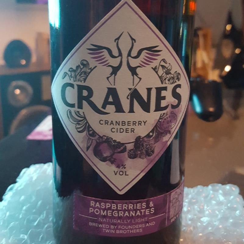picture of Cranes Drink Ltd Cranes Cranberry Cider - Rasperries & Pomegranates submitted by HarrietteD