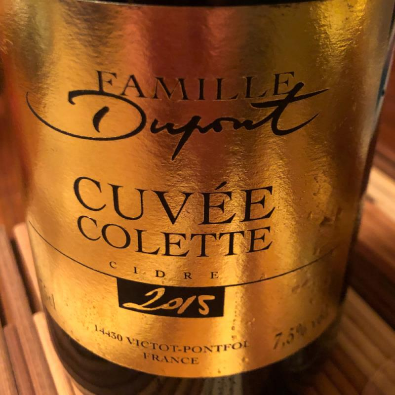 picture of Dupont Cuvée Colette (2015) submitted by GreggOgorzelec