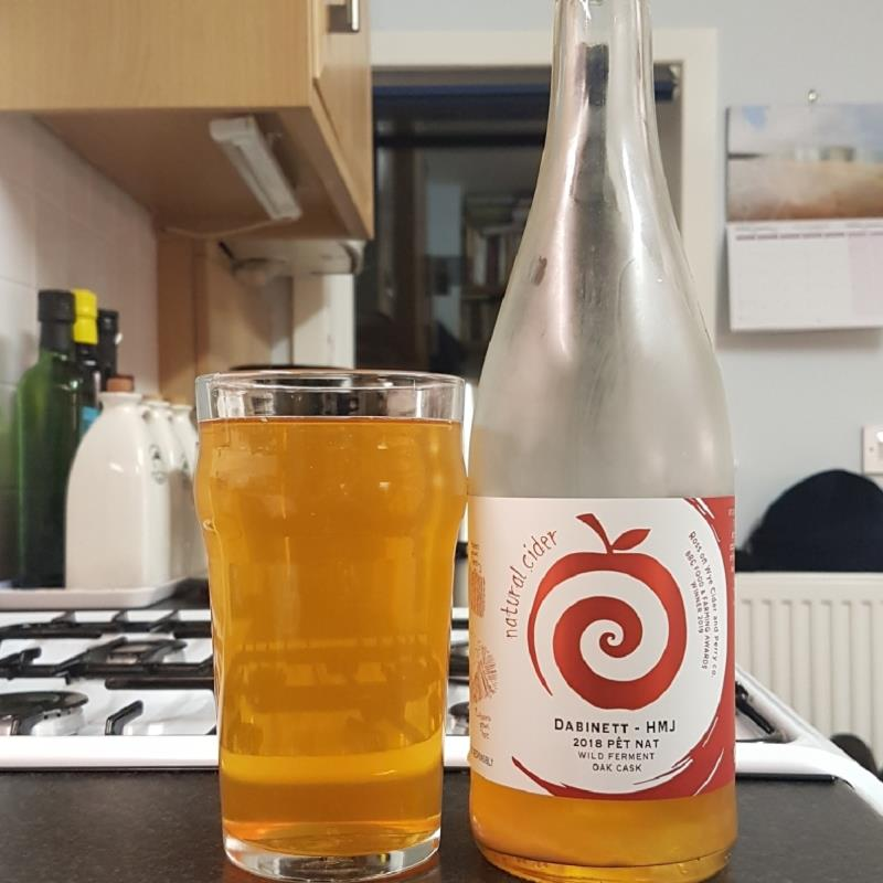 picture of Ross-on-Wye Cider & Perry Co Dabinett - HMJ Pet Nat 2018 submitted by BushWalker