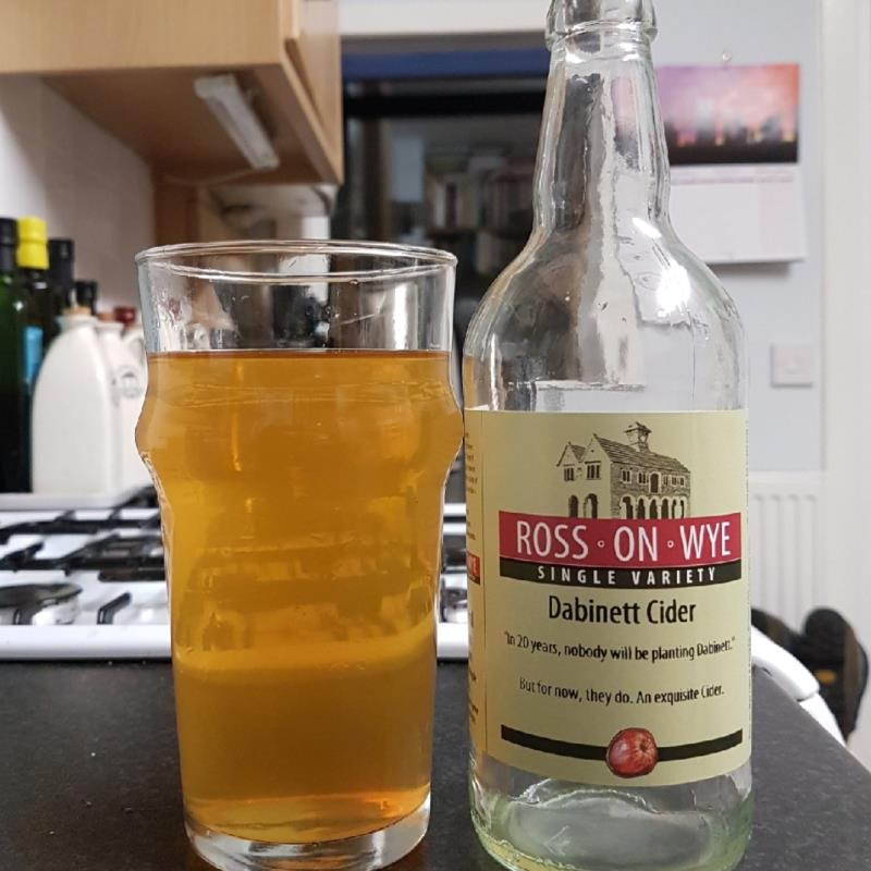 picture of Ross-on-Wye Cider & Perry Co Dabinett SV submitted by BushWalker