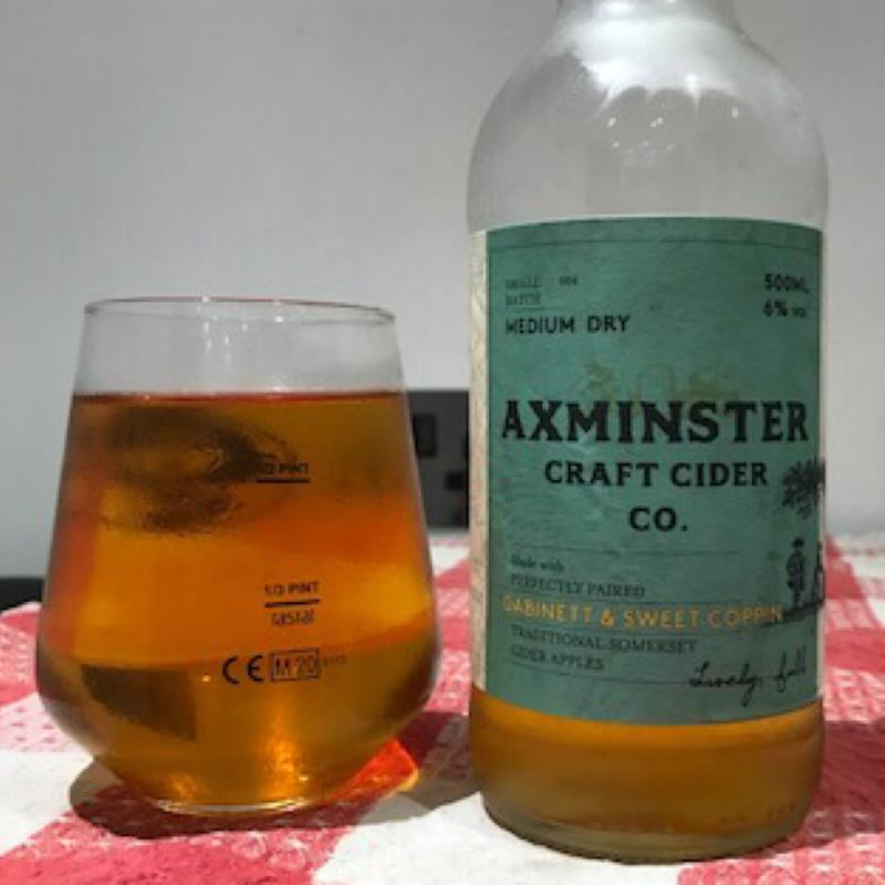 picture of Axminster Craft Cider Co Dabinett & Sweet Coppin submitted by Judge
