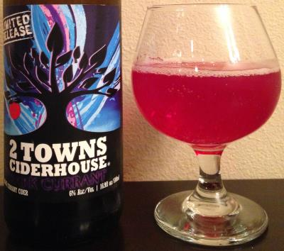 picture of 2 Towns Ciderhouse Dark Currant submitted by cidersays