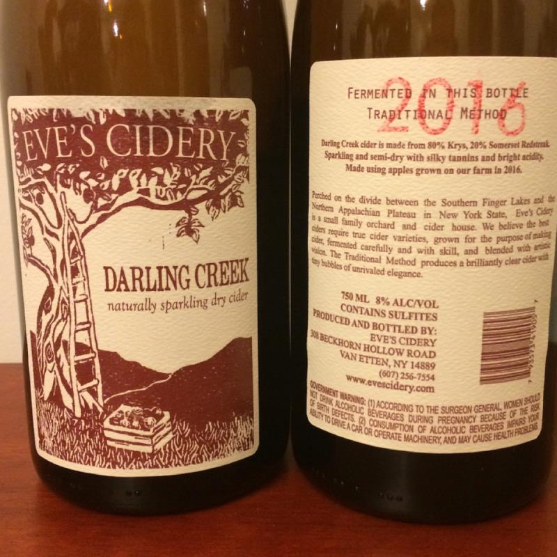 picture of Eve's Cidery Darling Creek (2016) submitted by Fro