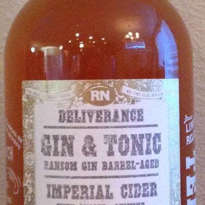 picture of Reverend Nat's Hard Cider Deliverance Gin & Tonic submitted by cidersays