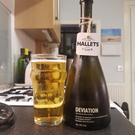 picture of Hallets Real Cider Deviation submitted by BushWalker