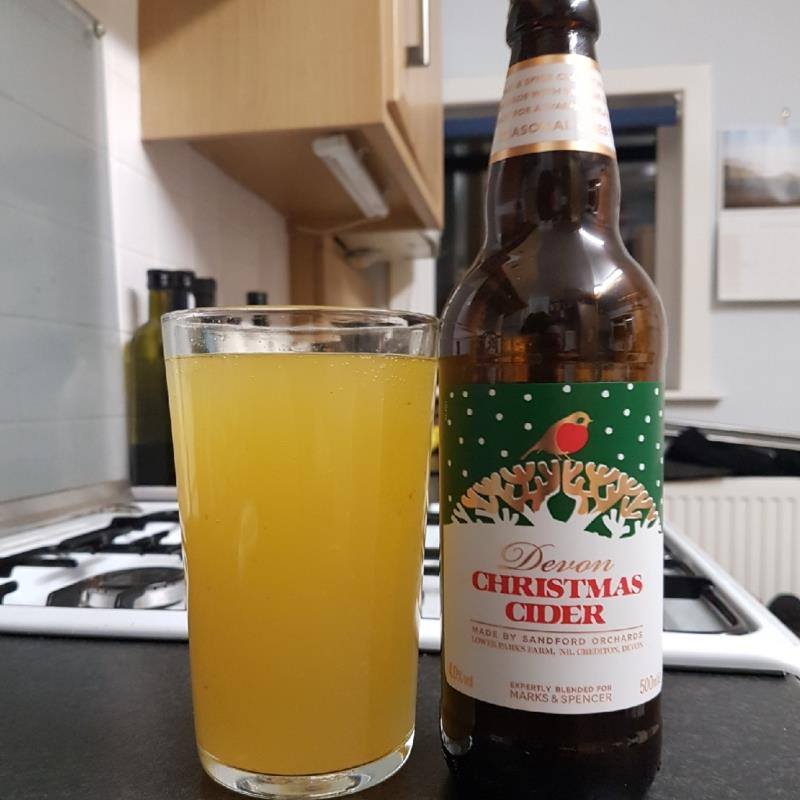 picture of Sandford Orchards Devon Christmas Cider submitted by BushWalker