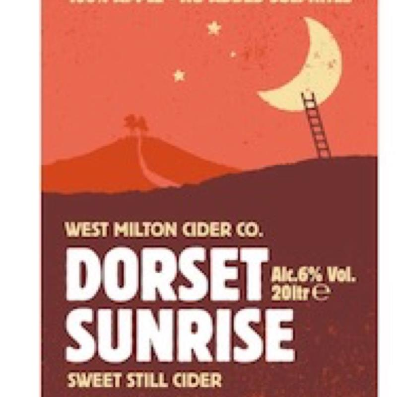 picture of West Milton Cider Company Dorset Sunrise submitted by Judge