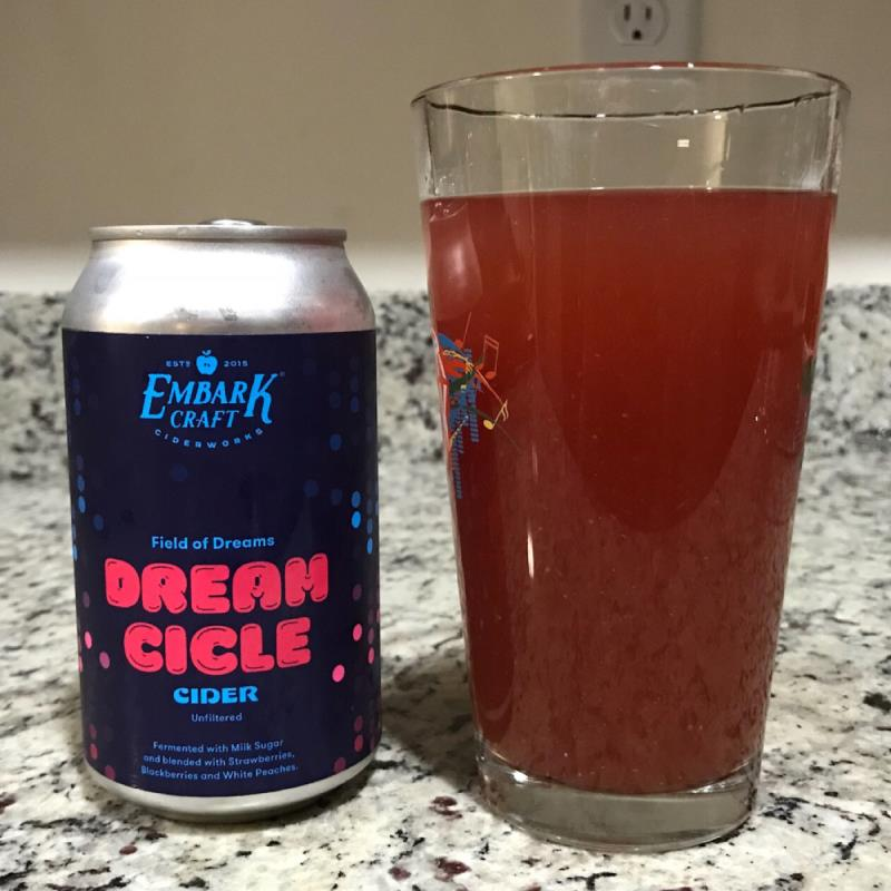 picture of Embark Craft Ciderworks Dreamcicle - Field of Dreams submitted by noses