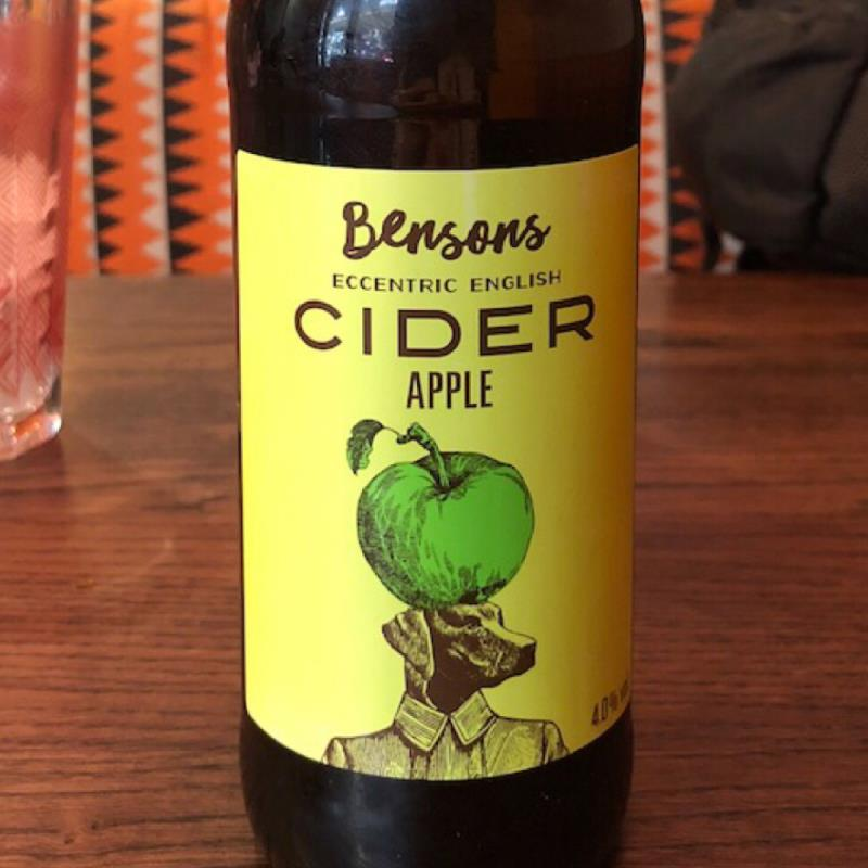 picture of Bensons Eccentric English Apple Cider submitted by esbeevor