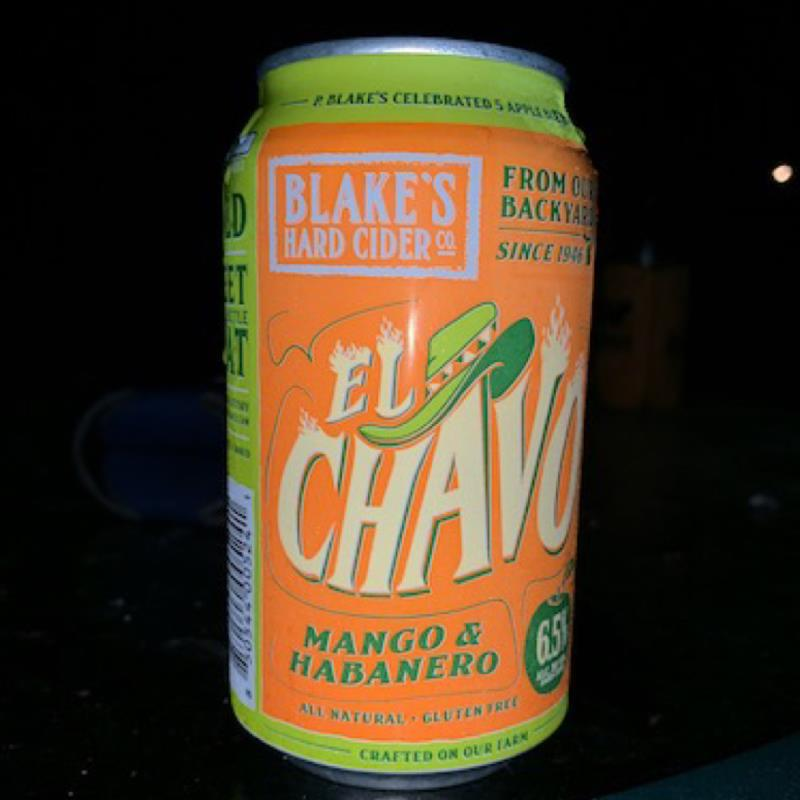 picture of Blake's Hard Cider Co. El Chavo Mango and Habanero submitted by DABurkhart