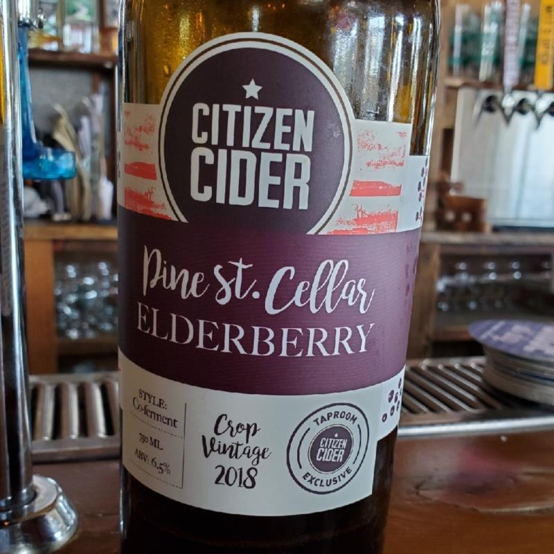 picture of Citizen Cider Elderberry submitted by TonyaStrahler