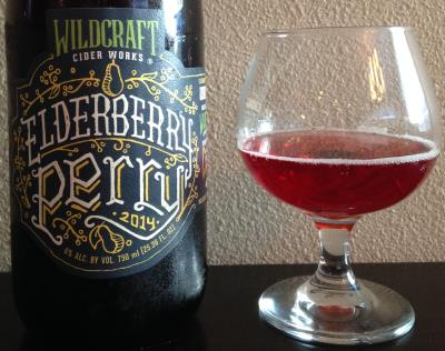 picture of Wildcraft Cider Works Elderberry Perry submitted by cidersays