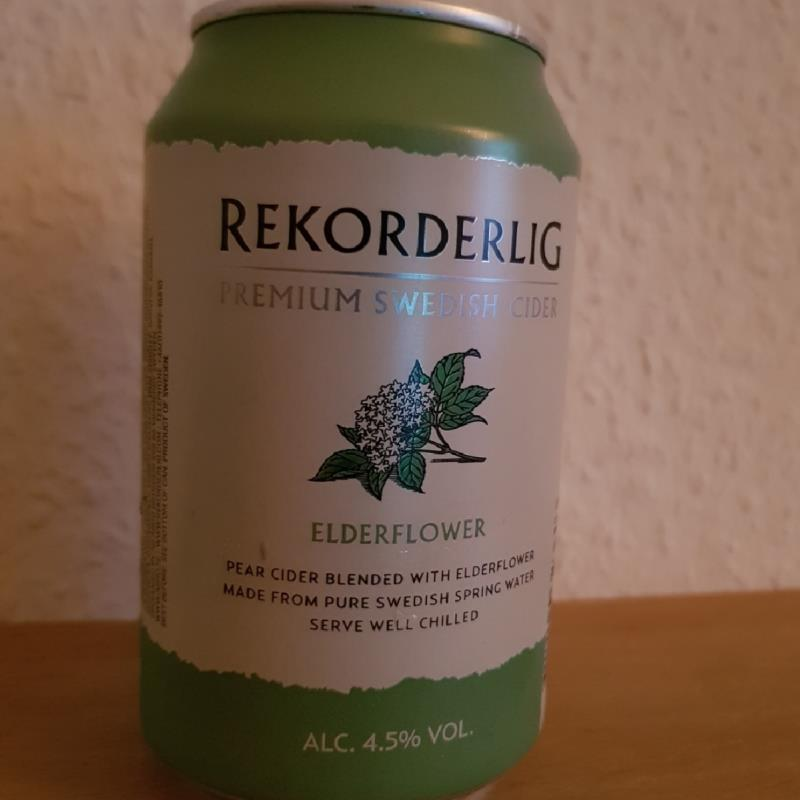 picture of Rekorderlig Swedish Cidery Elderflower submitted by Henning