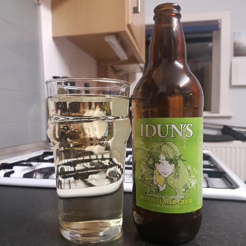 picture of Idun's Elderflower Cider submitted by BushWalker