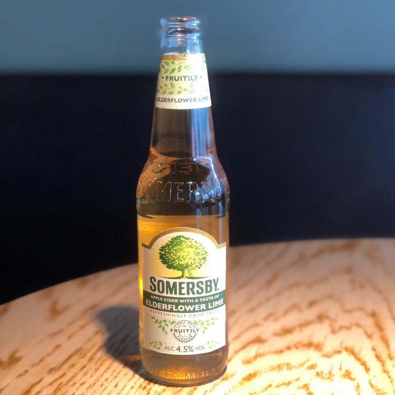 picture of Somersby Elderflower & Lime submitted by Cideristas