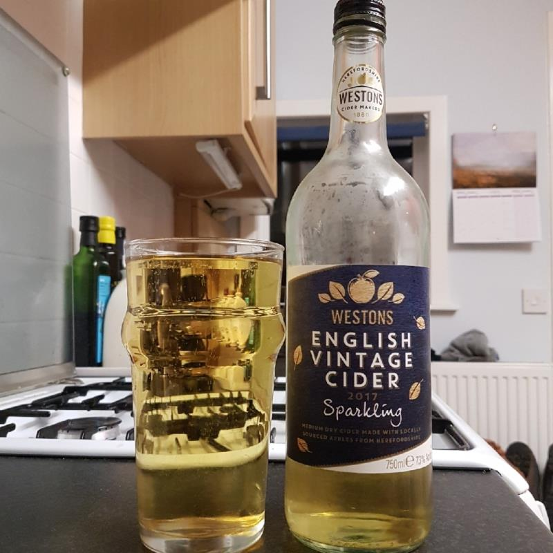 picture of Westons Cider English Vintage 2017 Cider submitted by BushWalker