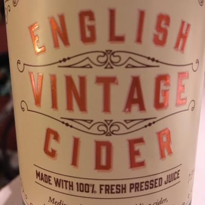 picture of Waitrose & Westons English Vintage Cider 2015 submitted by OxfordFarmhouse
