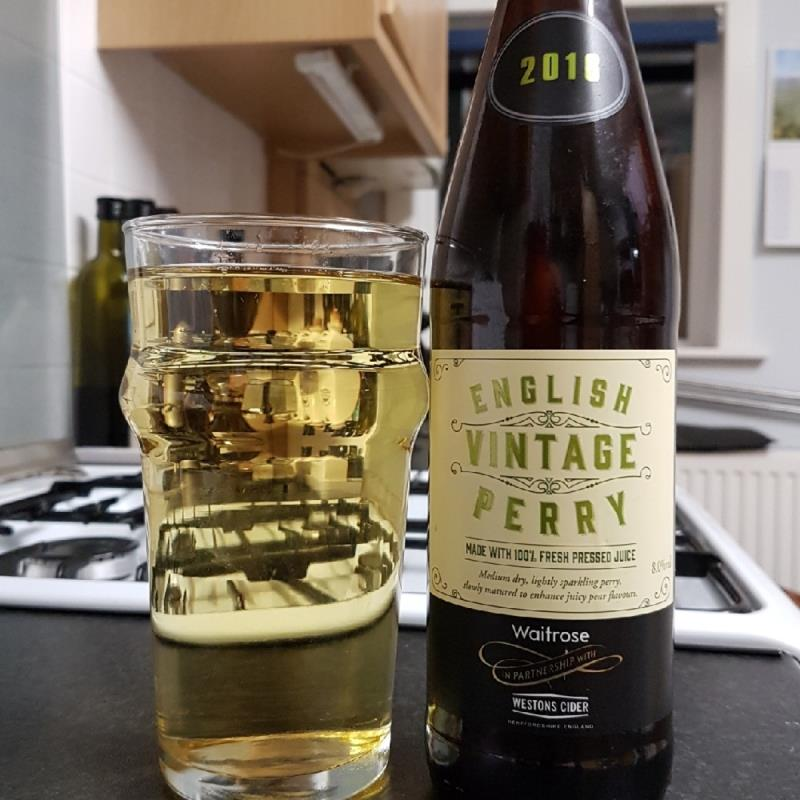 picture of Waitrose & Westons English Vintage Perry 2016 submitted by BushWalker