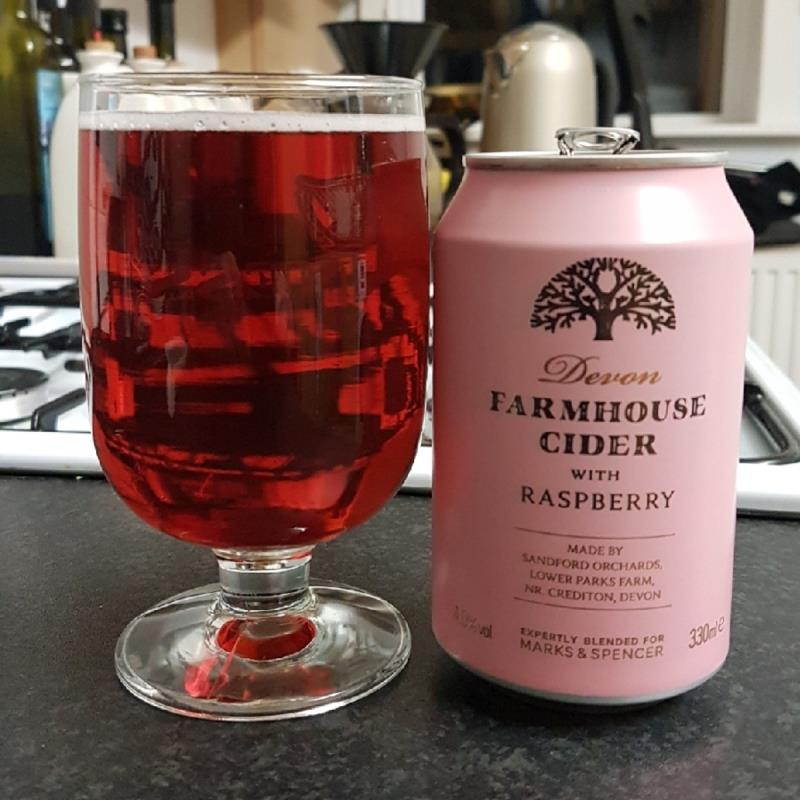 picture of Sandford Orchards Farmhouse Cider With Raspberry submitted by BushWalker