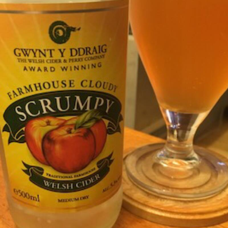 picture of Gwynt y Ddraig Cider Farmhouse Cloudy Scrumpy submitted by Judge