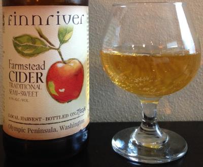 picture of Finnriver Cidery Farmstead Semi-Sweet submitted by cidersays