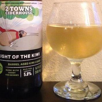 picture of 2 Towns Ciderhouse Flight of the Kiwi submitted by cidersays