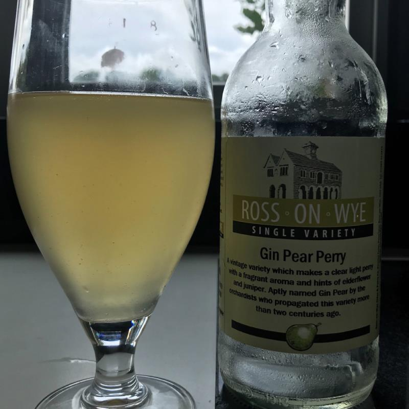 picture of Ross-on-Wye Cider & Perry Co Gin Pear Perry 2017 submitted by Judge