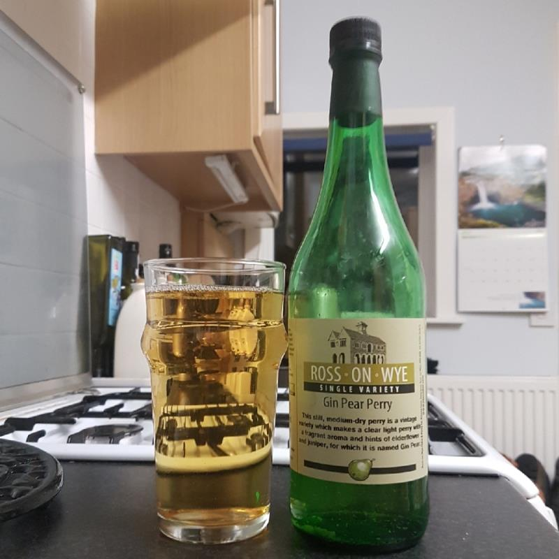 picture of Ross-on-Wye Cider & Perry Co Gin Pear Perry submitted by BushWalker